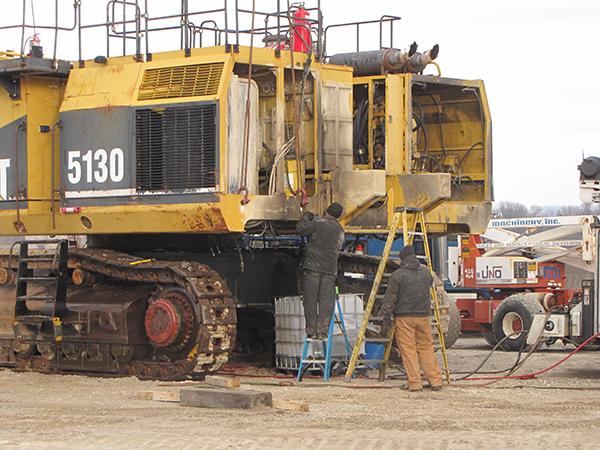 Heavy Equipment Maintenance : H m services